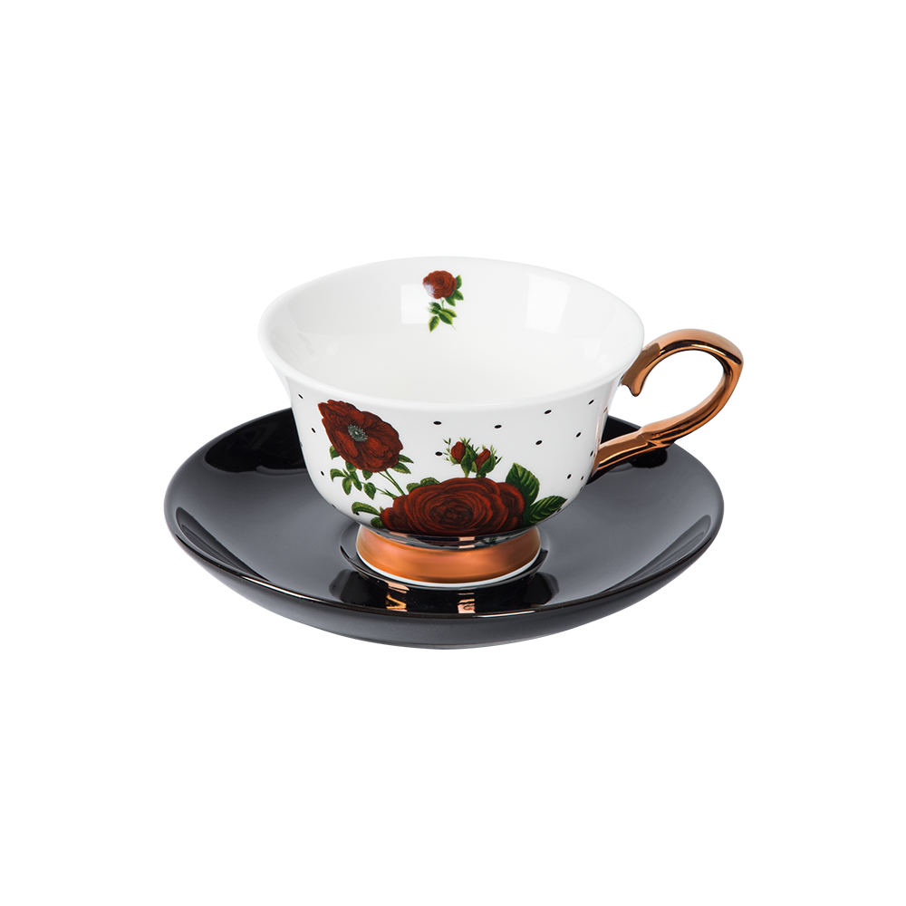 Tea Cup & Saucer (Set of 6)